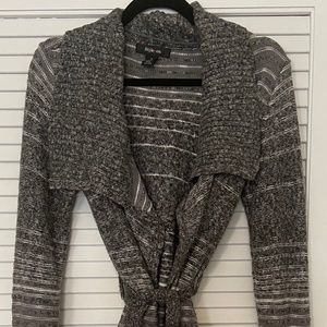 Style & Co Belted Wrap Cardigan New Without Tags